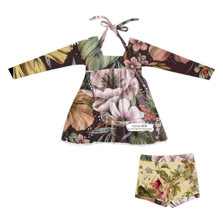 Secret Garden #2 Tunic or Bloomers