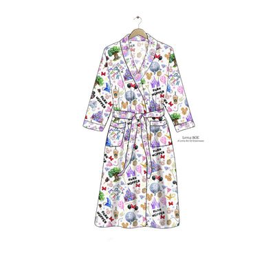 My Awesome Park Hopper Women's Robe