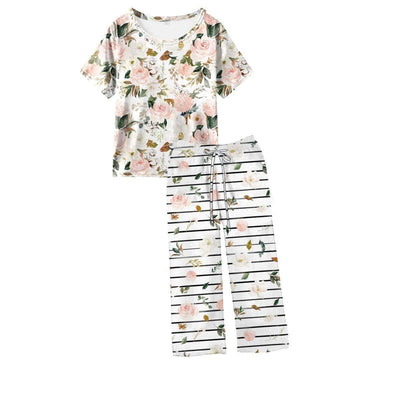 My Sweet Magnolia Women's PJ Set (Short Sleeve Tee & Pants)