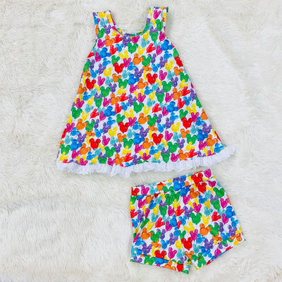 PRE-ORDER EXTRAS Colorful MM Balloons Lazy Day Set-Tank Style