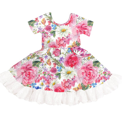 Love and Wildflowers Twirl Dress