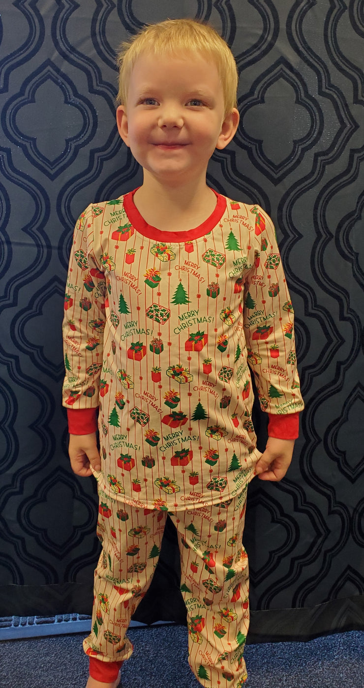 Christmas Presents PJ Set (Ready to ship and extras)