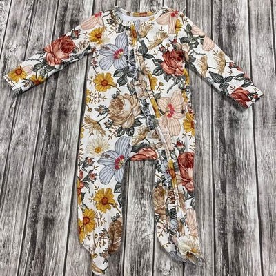 Autumn Wildflowers Layette  (Ready to ship)