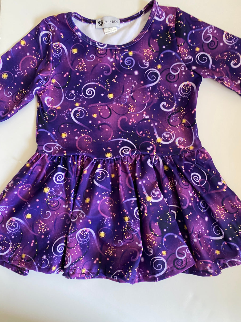 Starry Peplum top