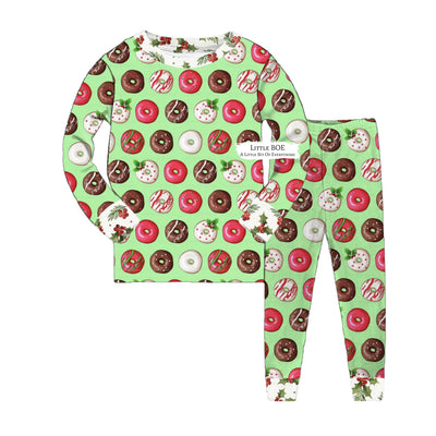 Doughnuts for Christmas Pj Set Unisex (Adults)
