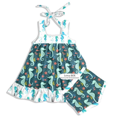 Sea Horses Tunic Set