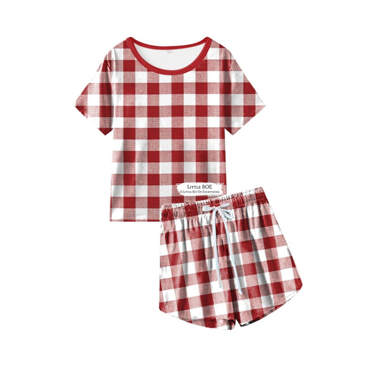 Women's Home for Christmas PJ Set (Ready to ship and extras)