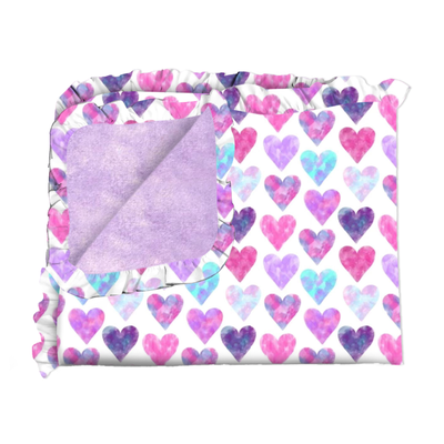 Purple Heart Passion Blanket