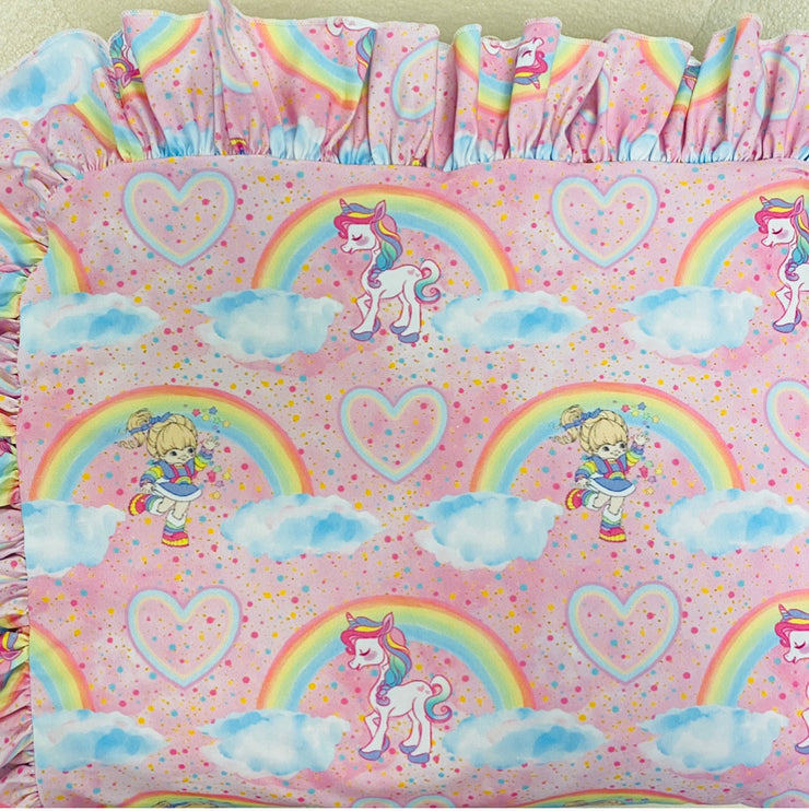 Pink Rainbow Brite-Minky (Ready to ship and extras)