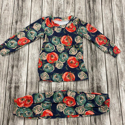 Evening Blooms PJ Set Unisex (Ready to Ship)