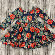Evening Blooms Twirl Dress (Ready to Ship)