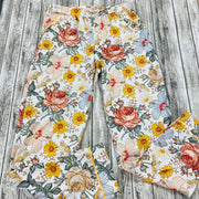 Women Autumn Wildflowers Button Up PJ Set - Long sleeves and Pants (Ready to Ship)