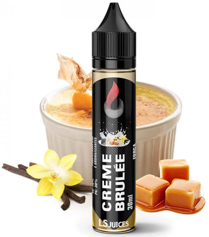 E-Liquid Creme Brulée | LS Juices