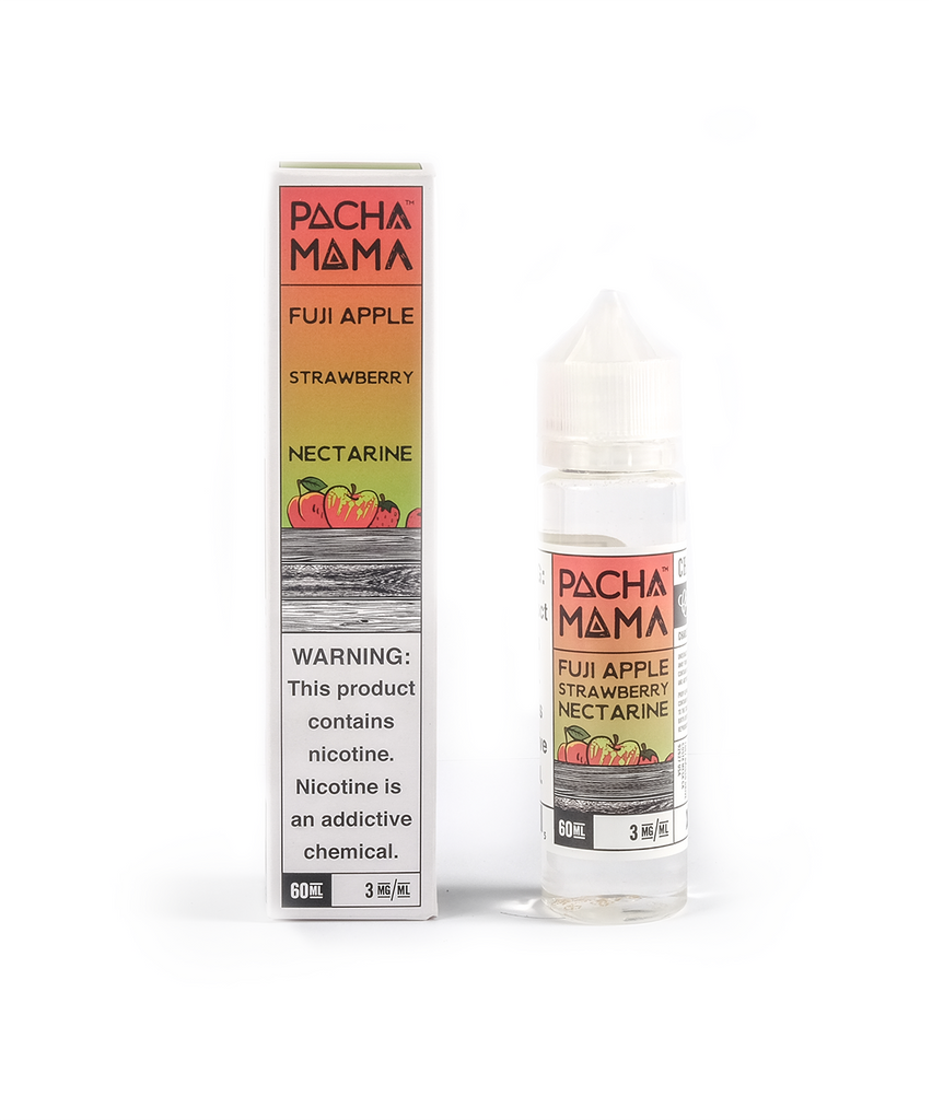 E-liquid Fuji Apple Strawberry Nectarine | Pachamama