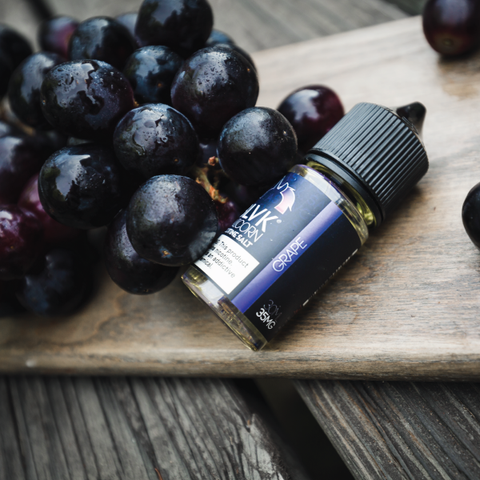 E-liquid Grape Nic Salt - BLVK Unicorn