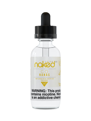 E-Liquid Go Nanas (60ml) | Naked