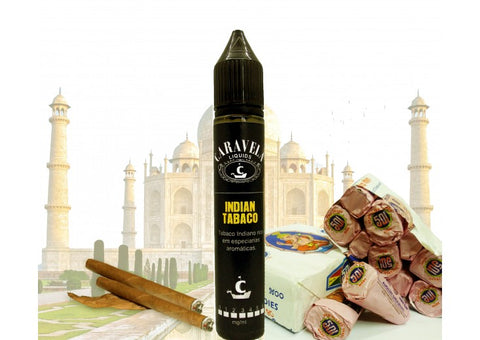 E-Liquid Indian Tabaco | Caravela