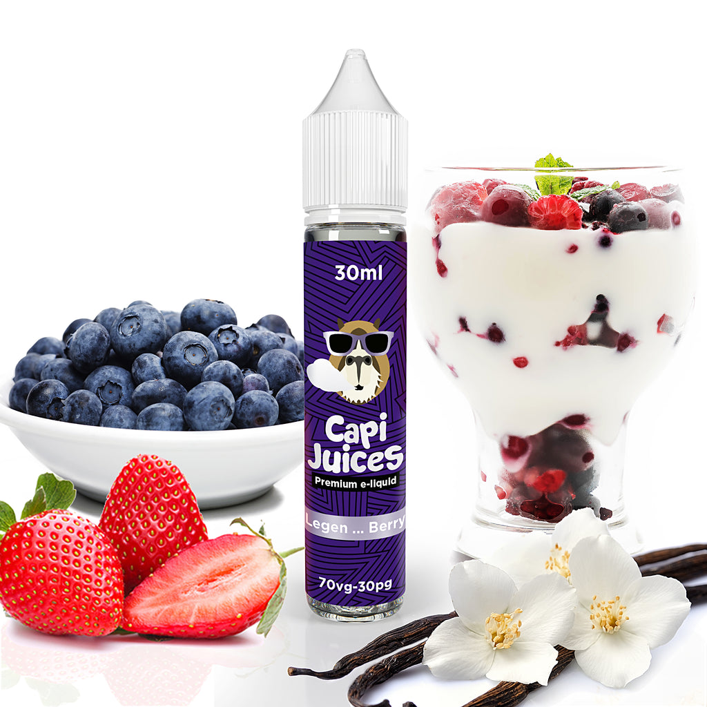 E-Liquid Legen Berry | Capijuices