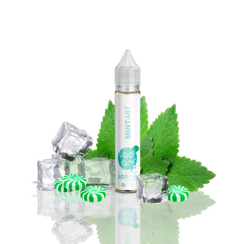E-Liquid Mint Art Ice | LQD Art