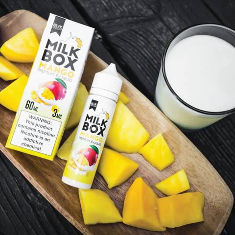 E-liquid Milk Box Mango | BLVK