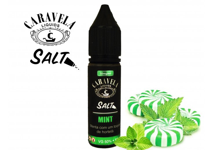 E-Liquid Nic Salt Mint | Caravela