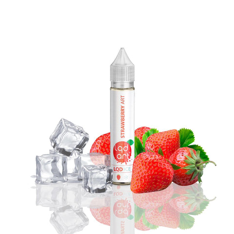 E-Liquid Strawberry Art Ice | LQD Art