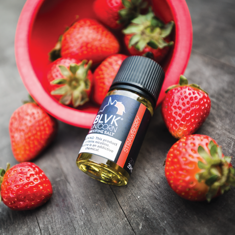 E-liquid Strawberry Nic Salt - BLVK Unicorn