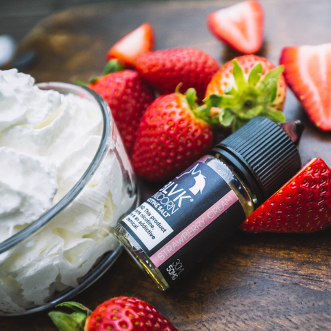 E-liquid Strawberry Cream Nic Salt - BLVK Unicorn