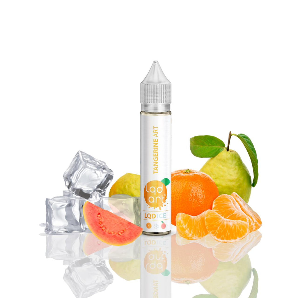 E-Liquid Tangerine Art Ice | LQD Art