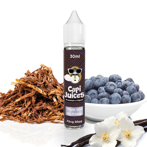 E-Liquid Thank God It's Friday | Capijuices