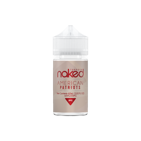 E-Liquid American Patriots | Naked