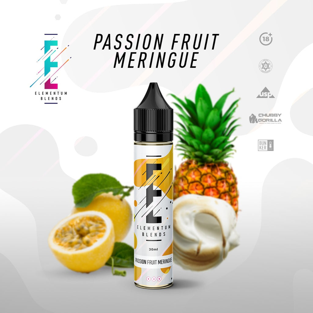 E-Liquid Passion Fruit Meringue | Elementum