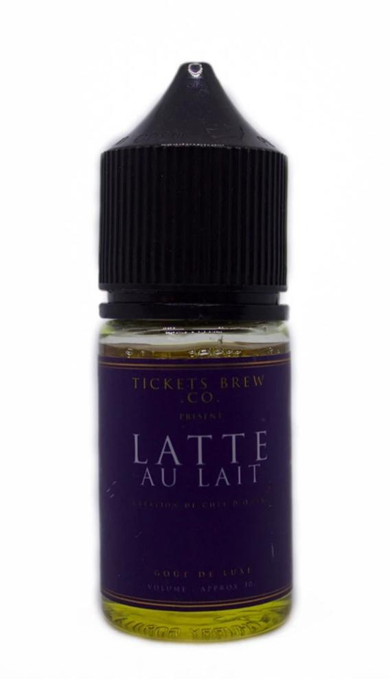 E-Liquid Nic Salt Latte Au Lait | Tickets