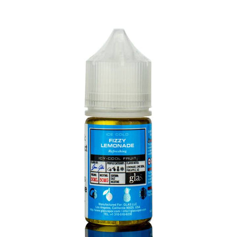E-Liquid Nic Salt Basix Fizzy Lemonade | Glas