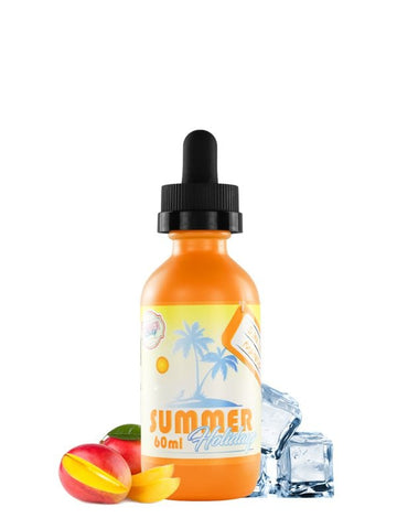 E-Liquid Summer Holidays Suntan Mango (60ml) | Dinner Lady