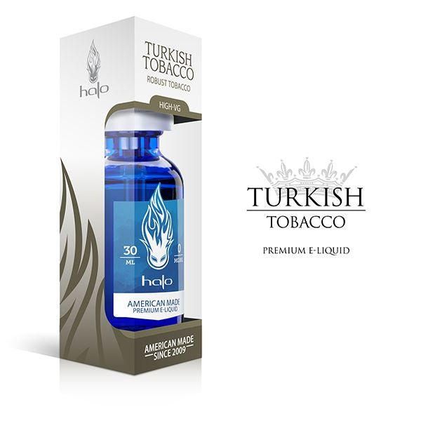 E-Liquid High-Vg Turkish Tobacco
