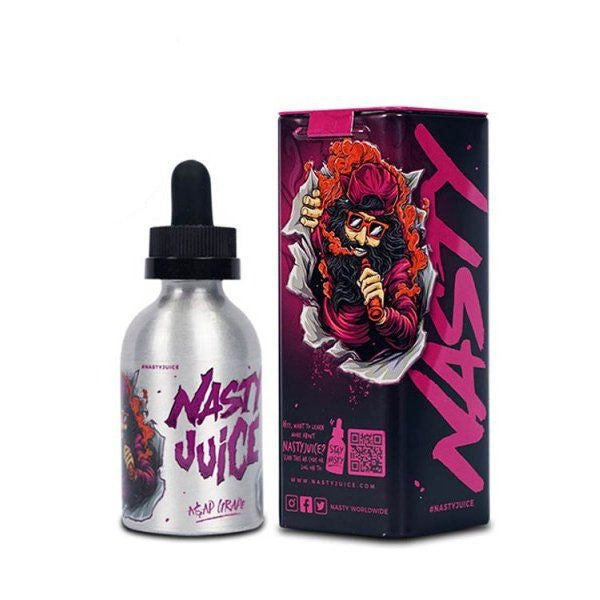 E-Liquid Asap Grape | Nasty Juice