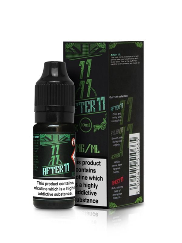 E-Liquid After 11 (10ml) | Dinner Lady
