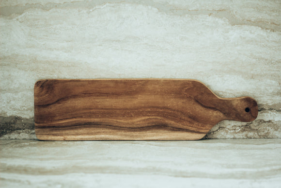 Teak Wood Rectangle Serving Board