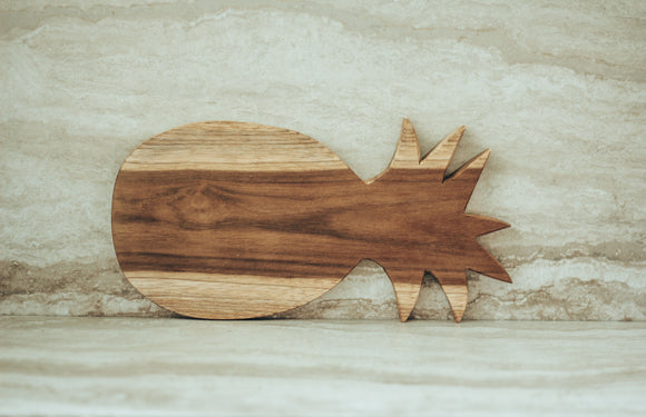 Wood Pineapple Serving Board