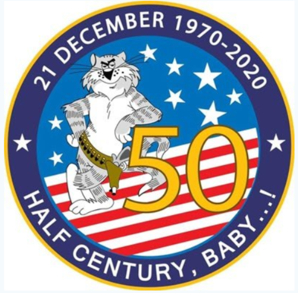 F-14 Tomcat 50th year anniversary