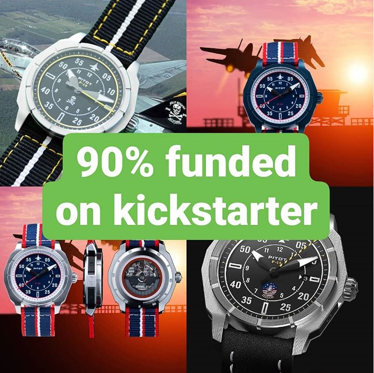 90% funded - only 3 watches more