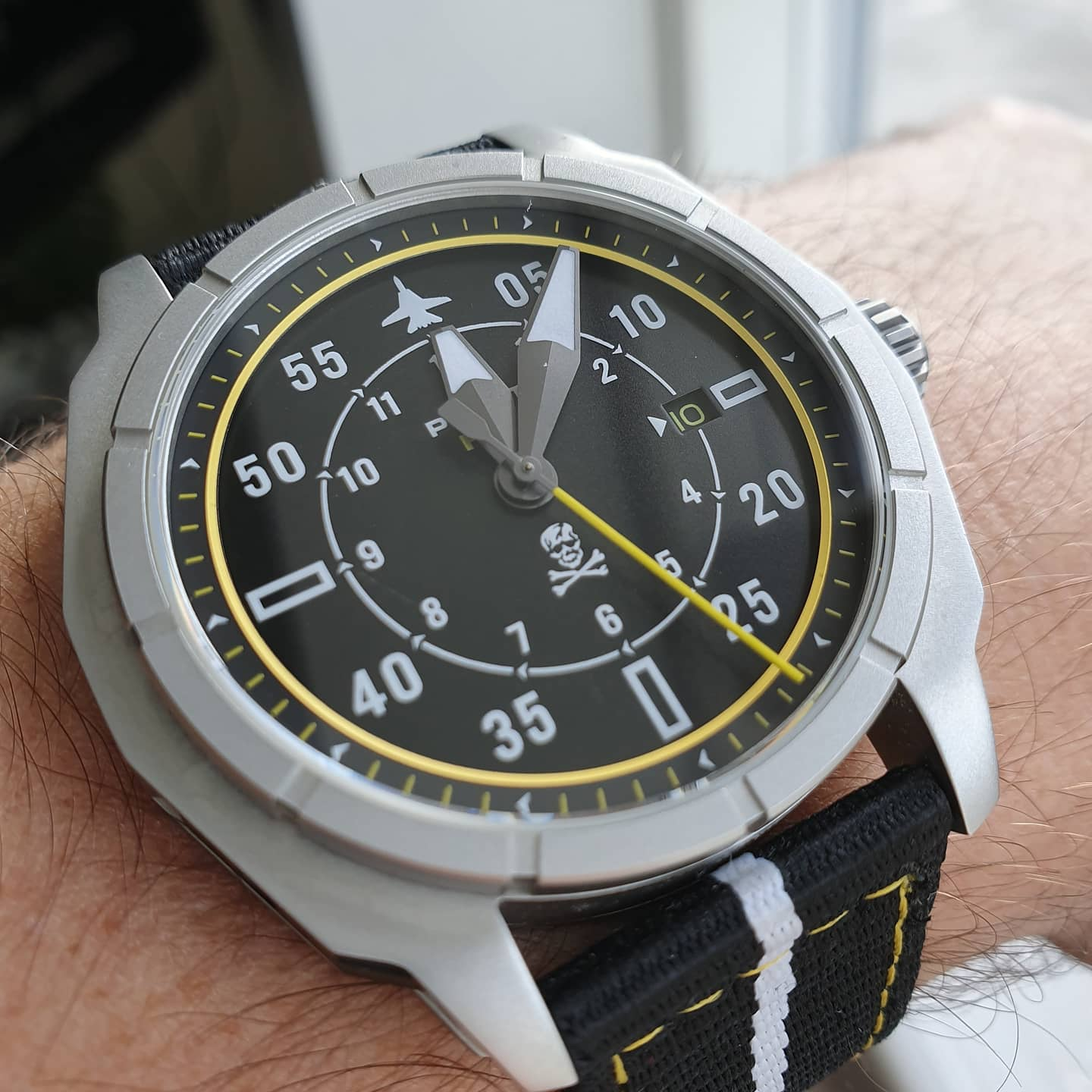 F-14 Tomcat inspired watches soon in stock.