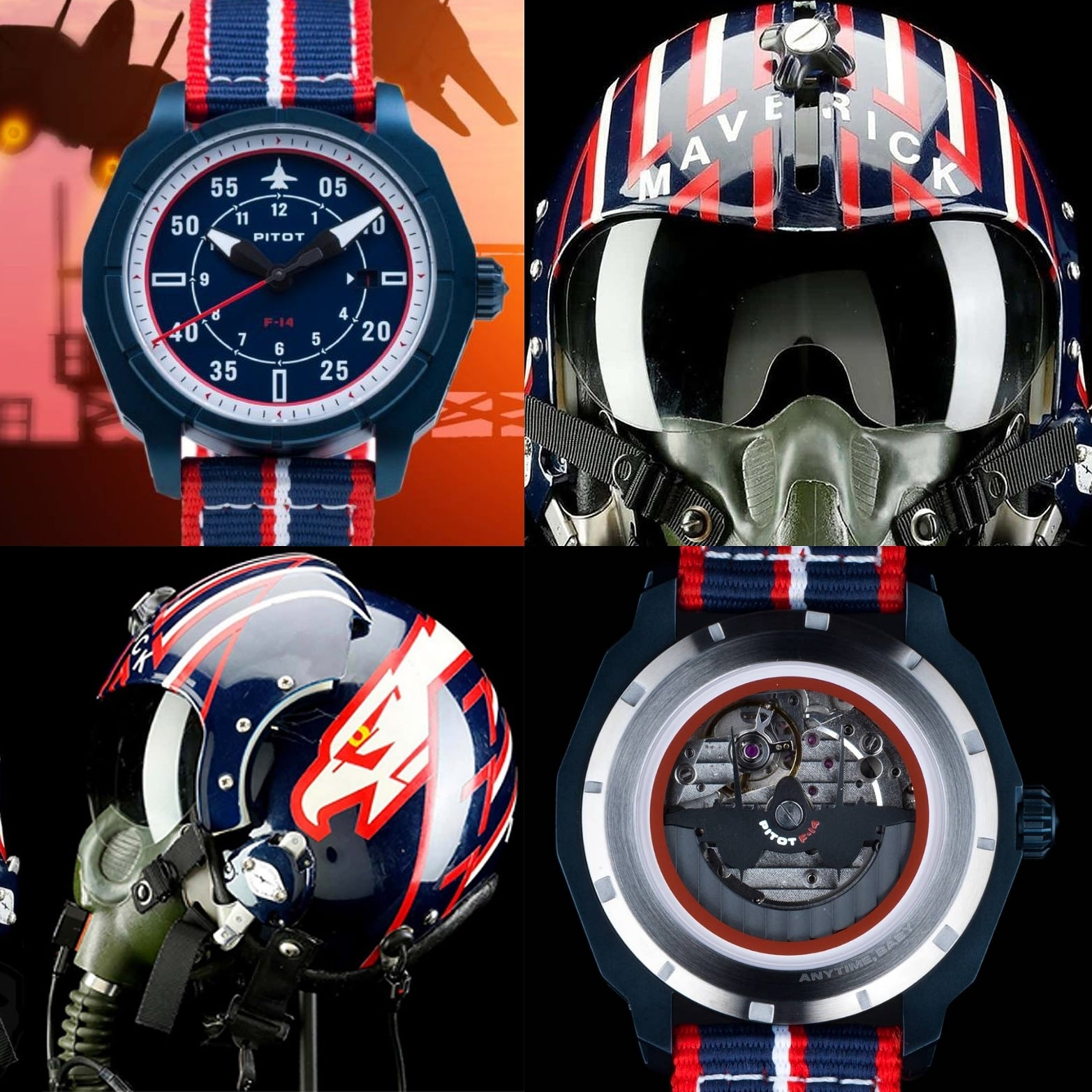 F-14 watch inspired by Top GUn