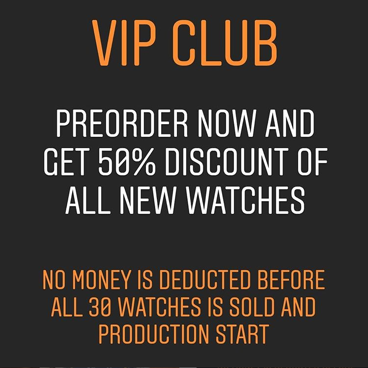 Preorder and VIP status