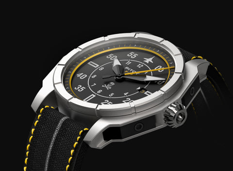 3D design in solidworks pitot watches