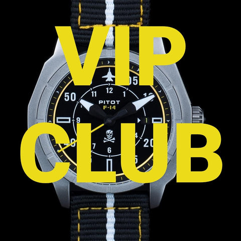 Become a VIP member and get 50% of future new watches