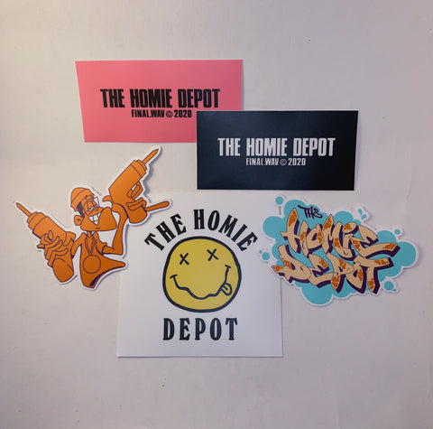 The Homie Depot Sticker Pack
