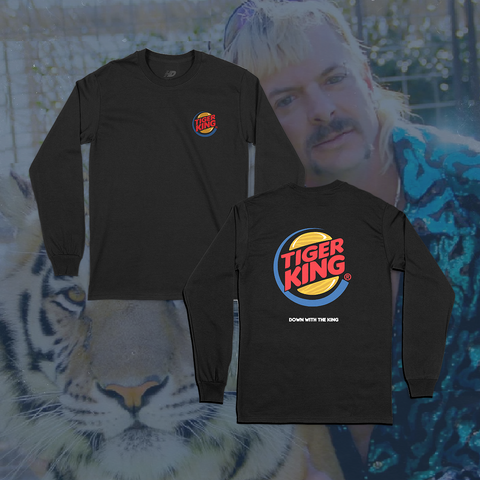TIGER KING LONG SLEEVE (BLACK)