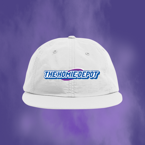 THE HOMIE DEPOT HIGH CHEW HAT (WHITE)